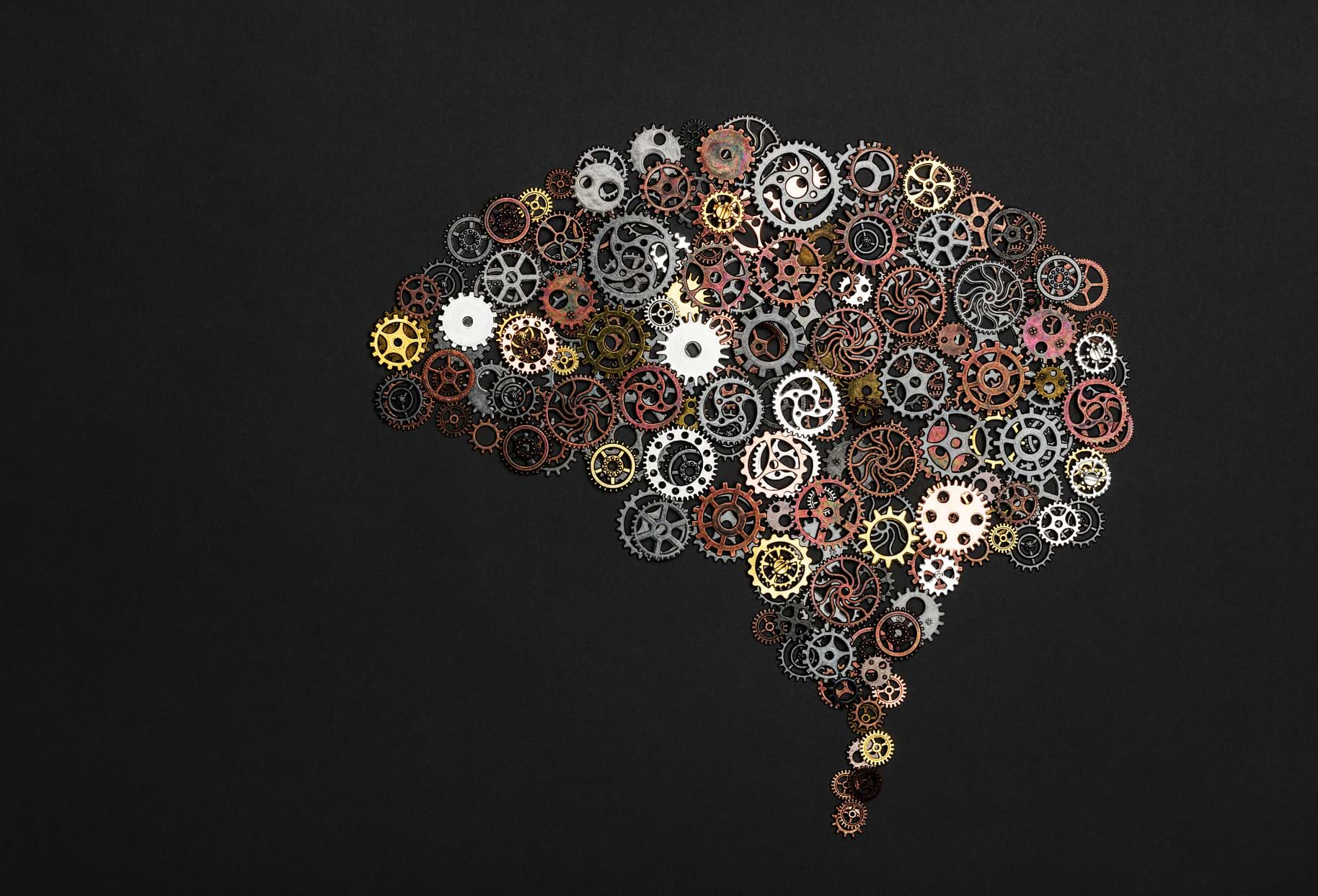 brain with cogs graphic